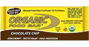 Organic Food Bar - Choc Chip